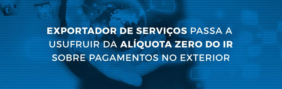 exportacao-servicos-aliquota-zero-IR